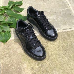 Puma genuine lack leather shoes